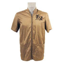 Tikima Vico – חולצה למניעת הרטבות בזמן המקלחת – בייג' זהב