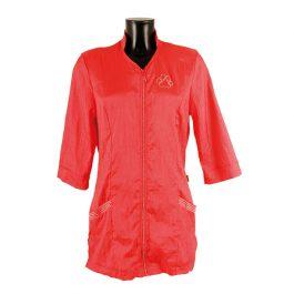 Tikima Aleria – חולצה למניעת הרטבות בזמן המקלחת – אדום קאיין