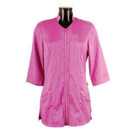 Tikima Aleria – חולצה למניעת הרטבות בזמן המקלחת – סגול סחלב