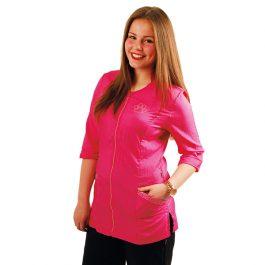 Tikima Aleria – חולצה למניעת הרטבות בזמן המקלחת – ורוד לוהט