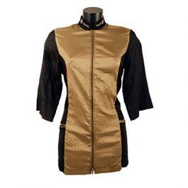 Tikima Caprezo – חולצה למניעת הרטבות בזמן המקלחת – זהב / שחור