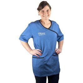 Tikima Fiori – חולצה למניעת הרטבות בזמן המקלחת – כחול