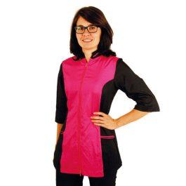 Tikima Caprezo – חולצה למניעת הרטבות בזמן המקלחת – ורוד / שחור