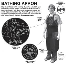EZ – Groom – סינר אמבטיה למניעת רטיבות – ארוך