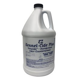 EZ – Groom – גלון נוזל חיטוי KENNEL – CIDE – מחטא, מסיר ריח, בקטריות, הורג וירוסים (כולל פרוווירוס)