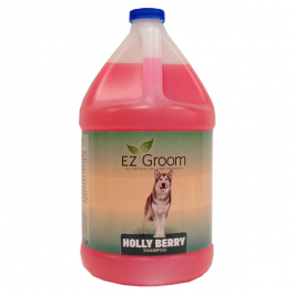 EZ-Groom – גלון שמפו Holly Berry – דילול 24:1
