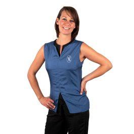 Tikima Belina – חולצה למניעת הרטבות בזמן המקלחת – כחול
