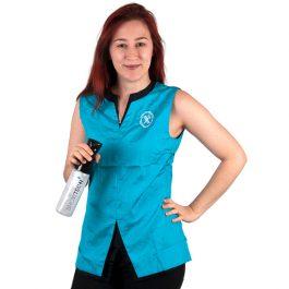 Tikima Belina – חולצה למניעת הרטבות בזמן המקלחת – טורקיז