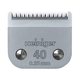 """Heiniger – סכין למכונת תספורת #40 – 0.25 מ""""מ"""