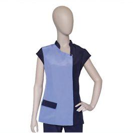 ARTERO Brigitte – חולצה למניעת הרטבות בזמן המקלחת Blue / Dark Blue