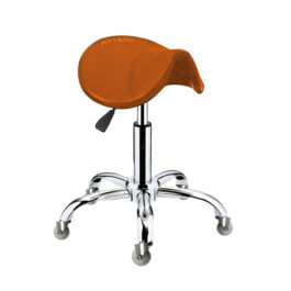ARTERO – כיסא אוכף כתום STOOL FENIX ORANGE