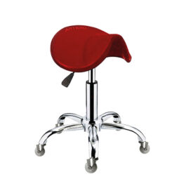 ARTERO – כיסא אוכף אדום STOOL FENIX RED