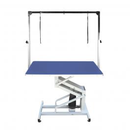 Ibanez – שולחן הידראולי משטח כחול מקצועי למספרות