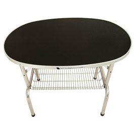 Ibanez – שולחן מתקפל אובלי (ללא מוט ריסון)