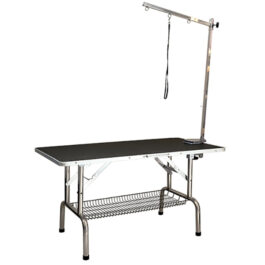 Ibanez – שולחן מתקפל מלבן (ללא מוט ריסון)
